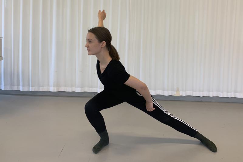 Linns danssteg förde henne ut i Europa