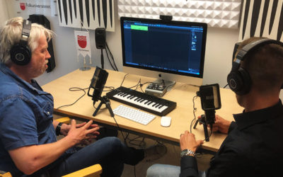Ny studio på högskolebiblioteket i Gävle