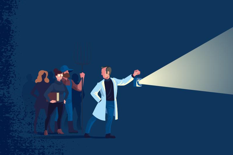 Konsten att tala om vetenskap