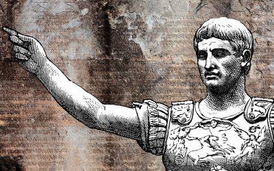 Fake news under antiken